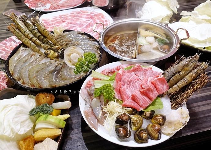 37 丰明殿 信義殿 超大肉盤 涮涮鍋 痛風海鮮盤