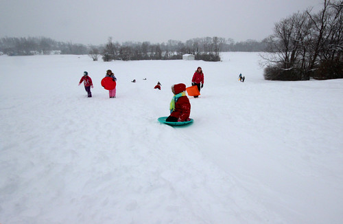 Salem Municipal Golf Course - Snow Sledding