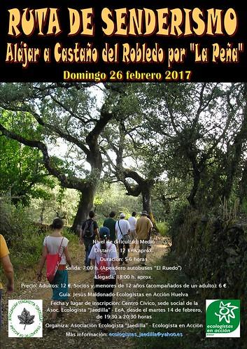 """AionSur 32760609921_cb41e2fea9_d Nueva ruta de senderismo de la Asociación """"Jaedilla"""" Asociaciones Medio Ambiente Sociedad"""