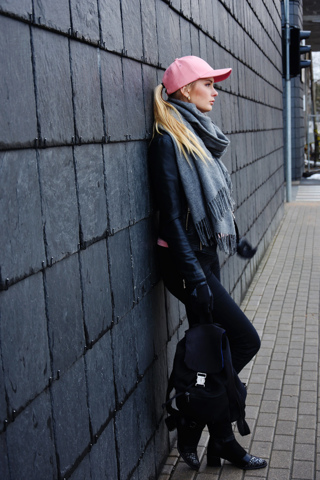 Fashion blogger from Europe