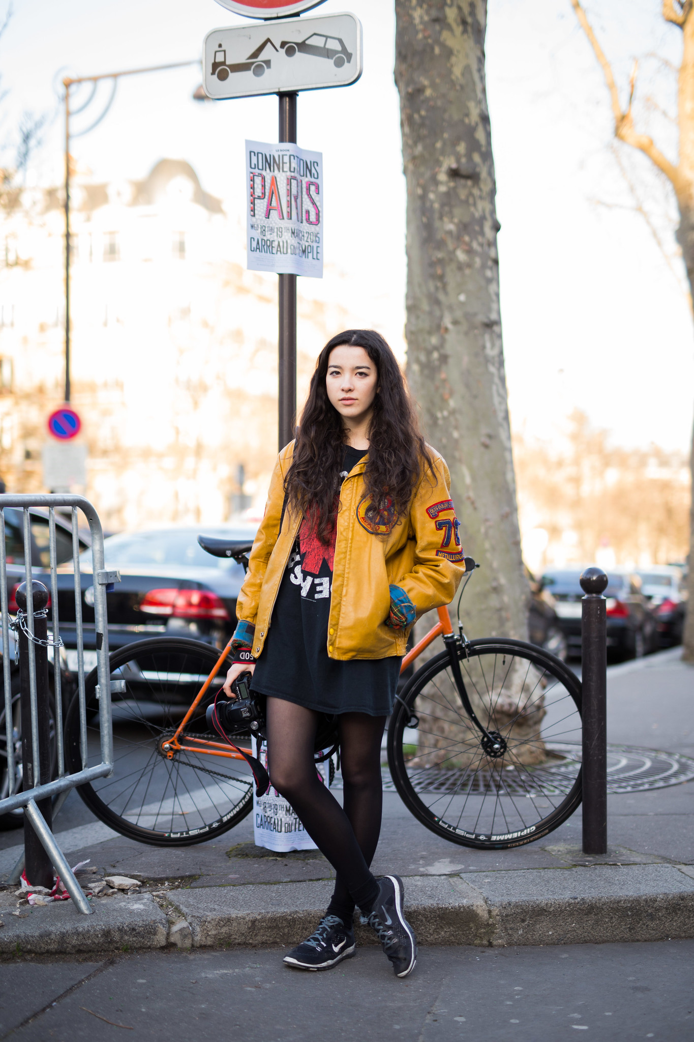 Street Style - Portia Hunt, Paris Fashion Week