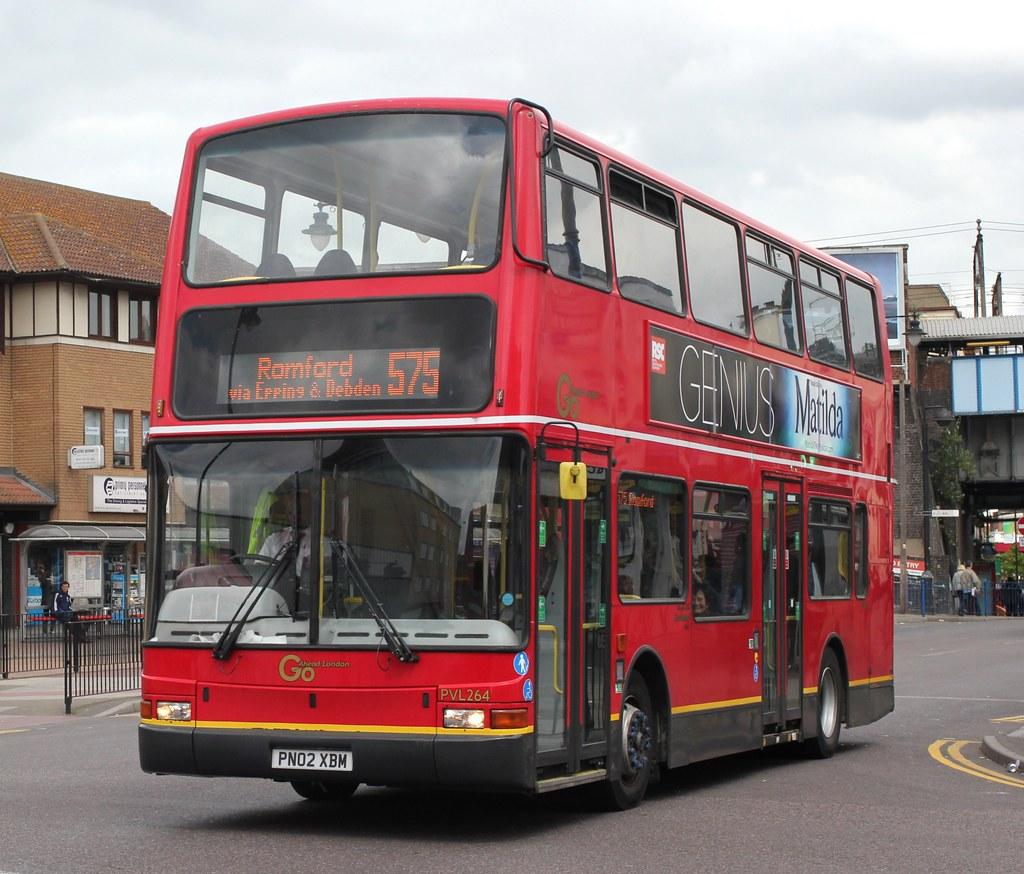 Go Ahead London . Blue Triangle Buses . PVL 264 PN02 XBM .… | Flickr