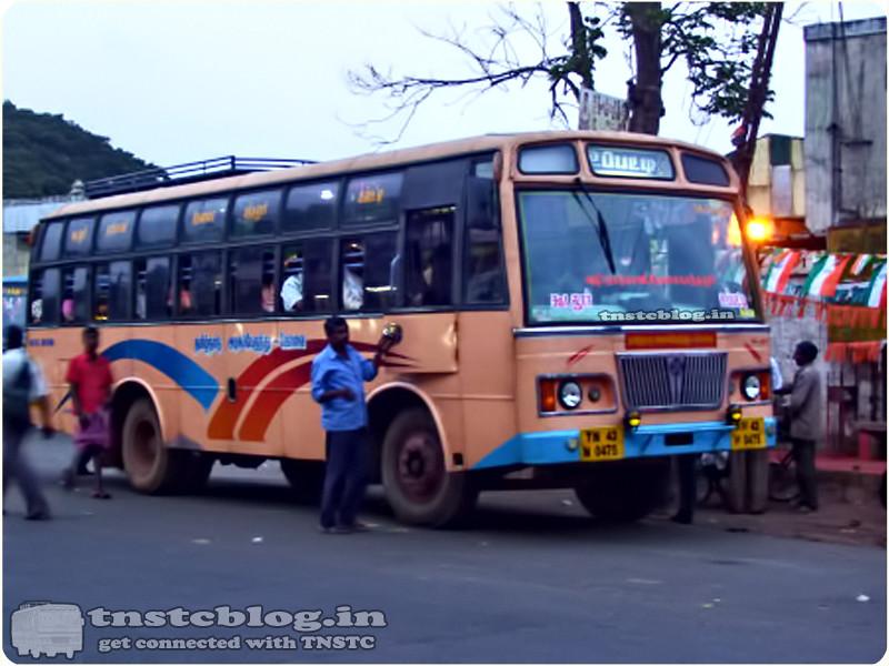 TN-43N-0475 of Gudalur Depot Route Gudalur - Uppatti via Nadugani, Devala,  Pandalur.