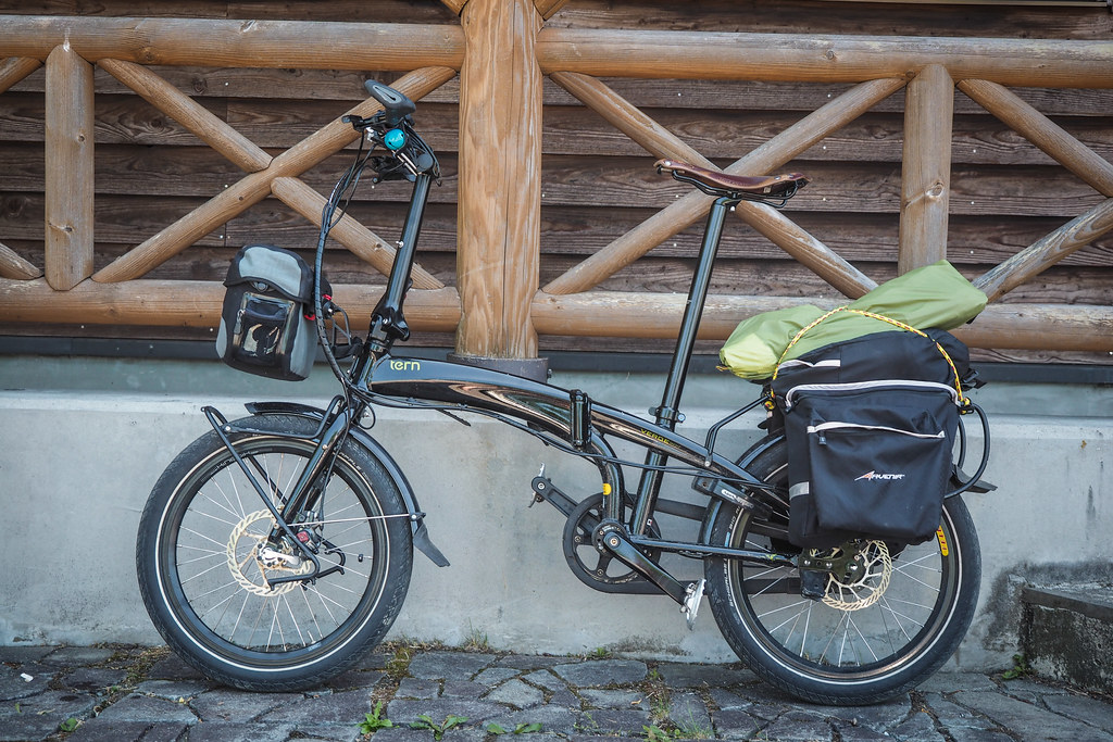 Bicycle Touring Folding Bike