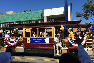 Golden State Warriors - Victory Parade Coaching staff