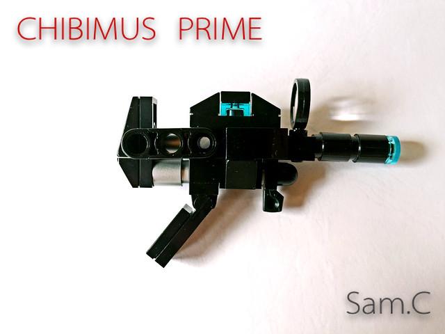 LEGO Transformers: Chibimus Prime- Ion Blaster