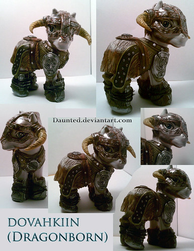 Custom pop culture My Little Pony by daunted - Skyrim Dovahkiin