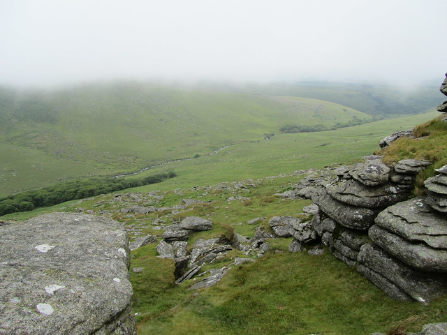 West Okement from Black Tor