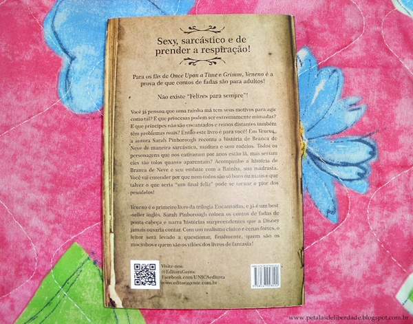 Sinopse do livro Veneno, Sarah Pinborough, Unica Editora