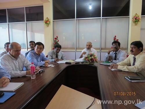 Discussion on Jaffna Development Plan – 2050