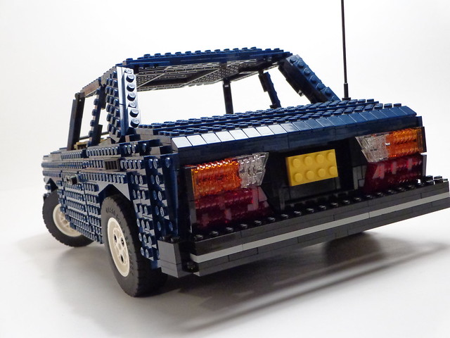 Saab 99 by Lego