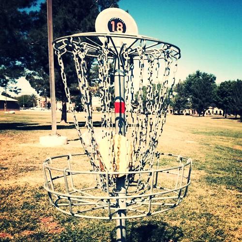Disc Golf at Sunset Park, Las Vegas 04.2015