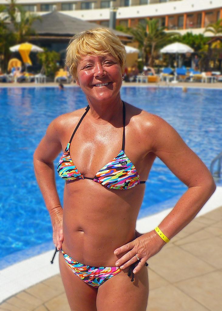 Mary By The Pool  This Was The Iberostar Playa Gaviotas -3098
