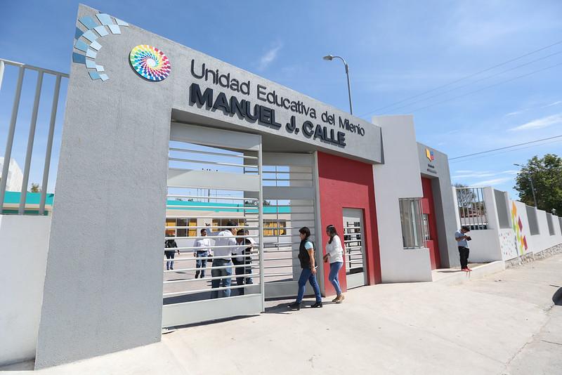 Inauguración UEM Manuel J. Calle