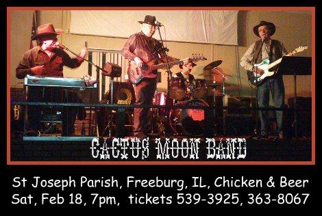 Cactus Moon Band 2-18-17
