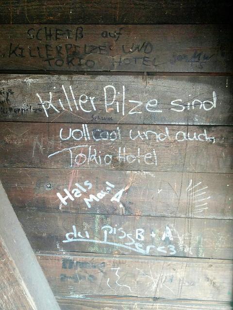Killer Pilze und Tokyo Hotel
