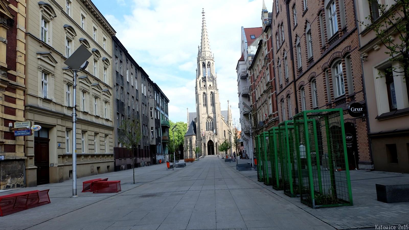 Kościół pw. Niepokalanego Poczęcia NMP, Mariacka, Katowice, Polska