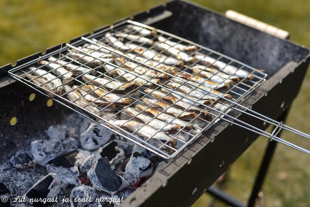 räime grillimine