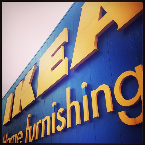 A rainy Saturday calls for a trip to @IkeaUSA!