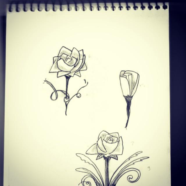 Estudo Para Tattoo Cruz De Flores Ruy Nakajima Flickr
