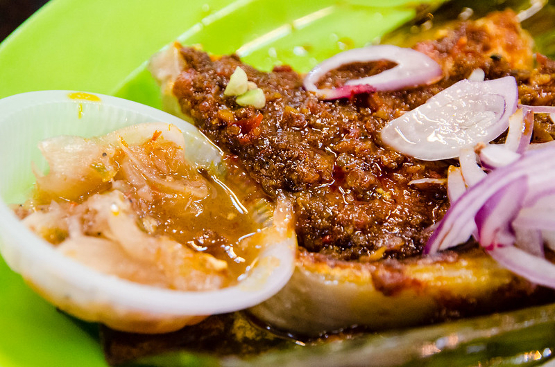 Grilled Stingray Fish at Raja Uda Food Court @ Jalan Raja Uda, Butterworth, Penang
