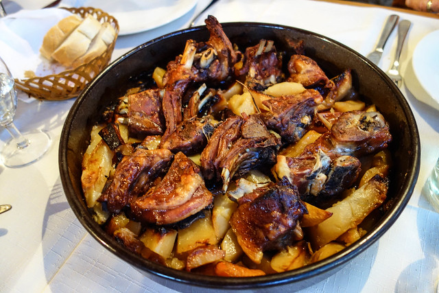 Delicious Croatian Lamb Peka
