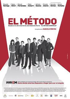 """""""El metodo"""" cartel de la película"""