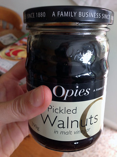 pickled walnut