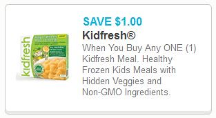 Kidfresh Frozen Entree at Target