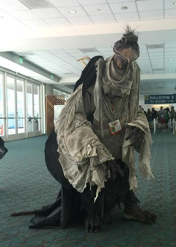 San Diego Comic-Con 2015 Cosplay - Skeksis The Dark Crystal