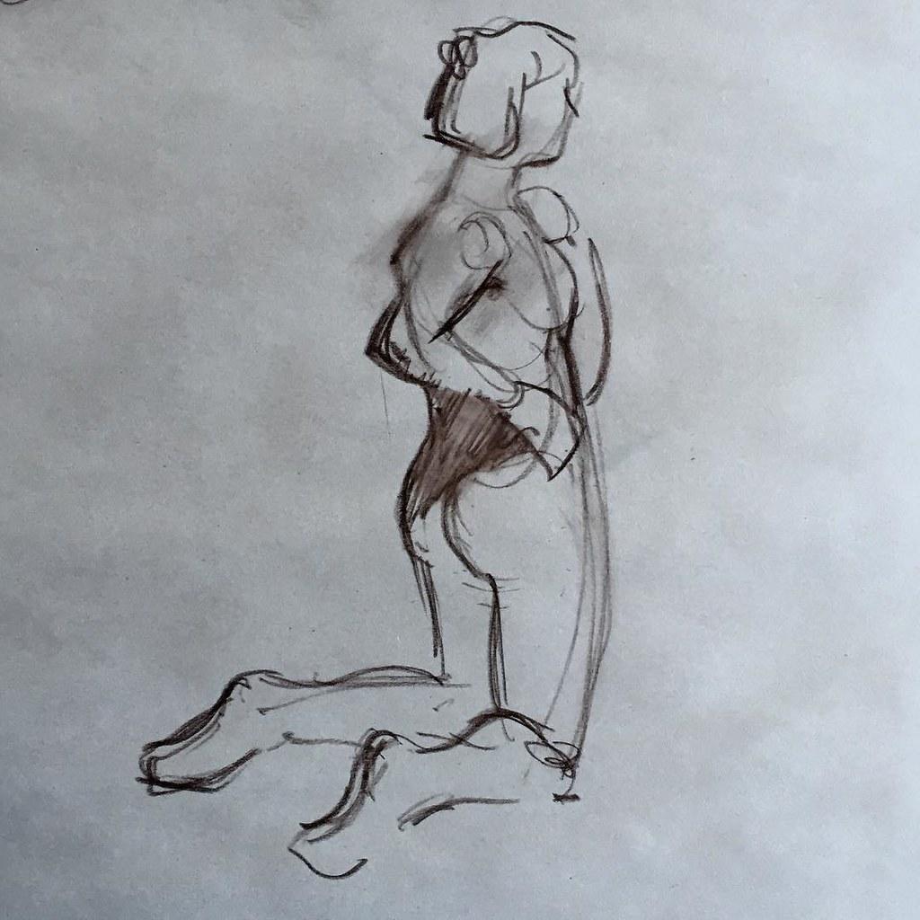 5 minute #GestureDrawing #drawing #lifedrawing   boodiba   Flickr