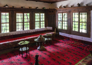 Richly decorated room in the Guest House @ The Ethnological Museum - Pristina, Kosovo | by Paul Diming
