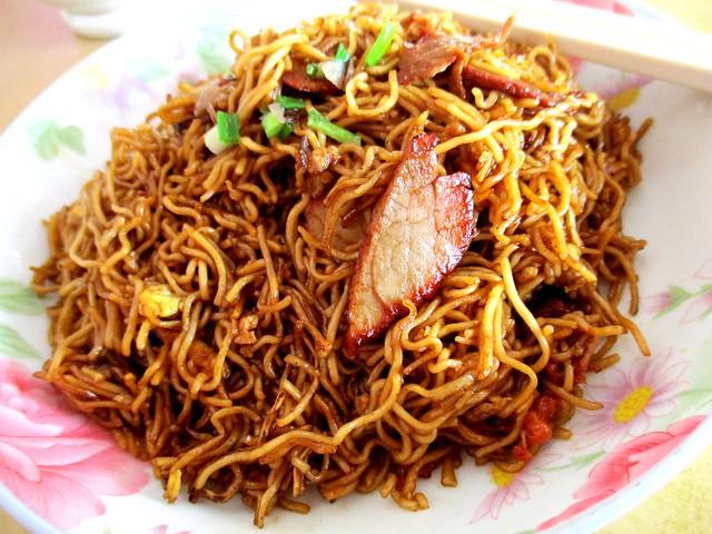 Wan Sen Corner fried kampua mee 1