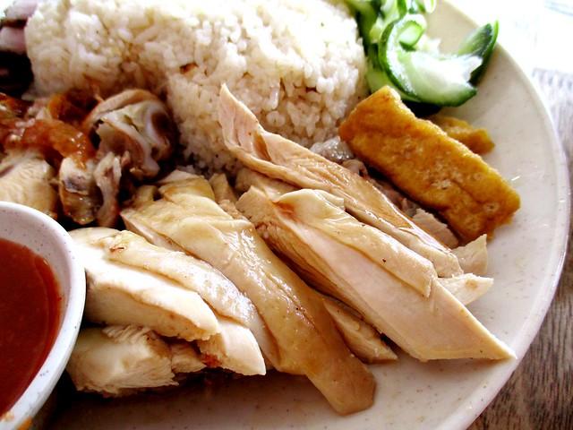 Mitsu Shabu Shabu Cafe steamed chicken
