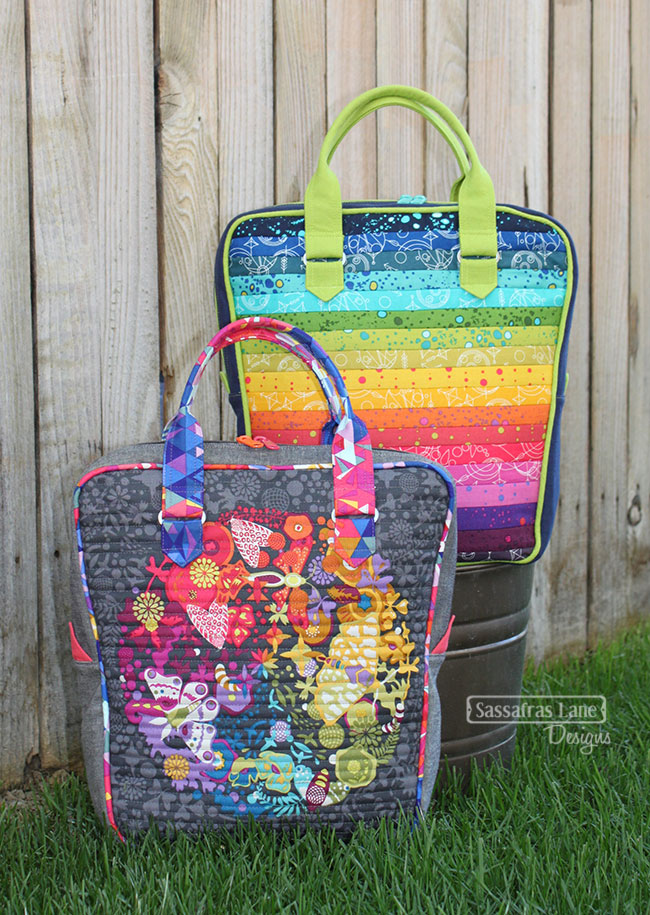 Bubba Bowling Bag - New Pattern from Sassafras Lane Designs