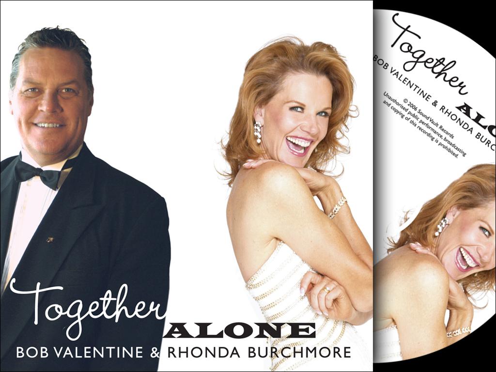 Bob Valentine and Rhonda Burchmore CD