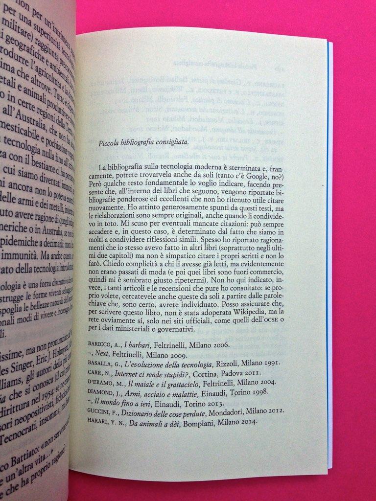 Mario Tozzi, Tecnobarocco. Einaudi 2015. Responsabilità grafica non indicata [Marco Pennisi]. Appendici, a pag. 189 (part.), 1