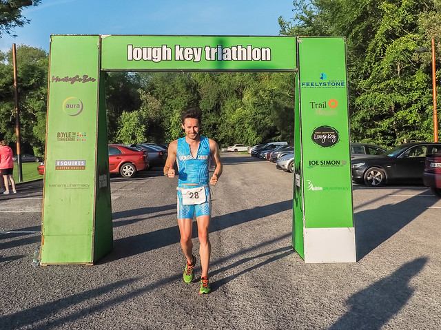 Wayne Reid - Lough Key Aquathon 2015