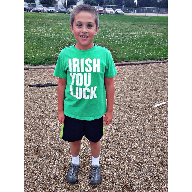 The one that looks most Greek out of my three is wearing a Irish shirt to Greekfest #irishgreek #funny #owenchristoper