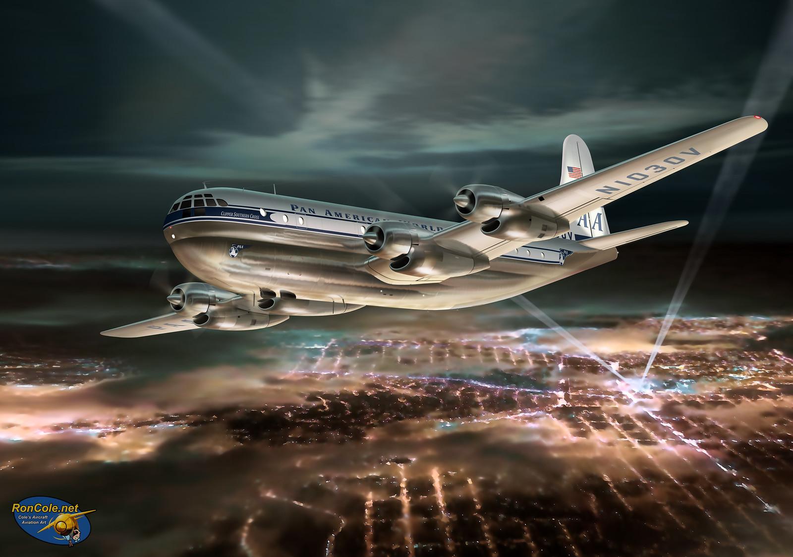 рисунок Boeing 377 Stratocruiser