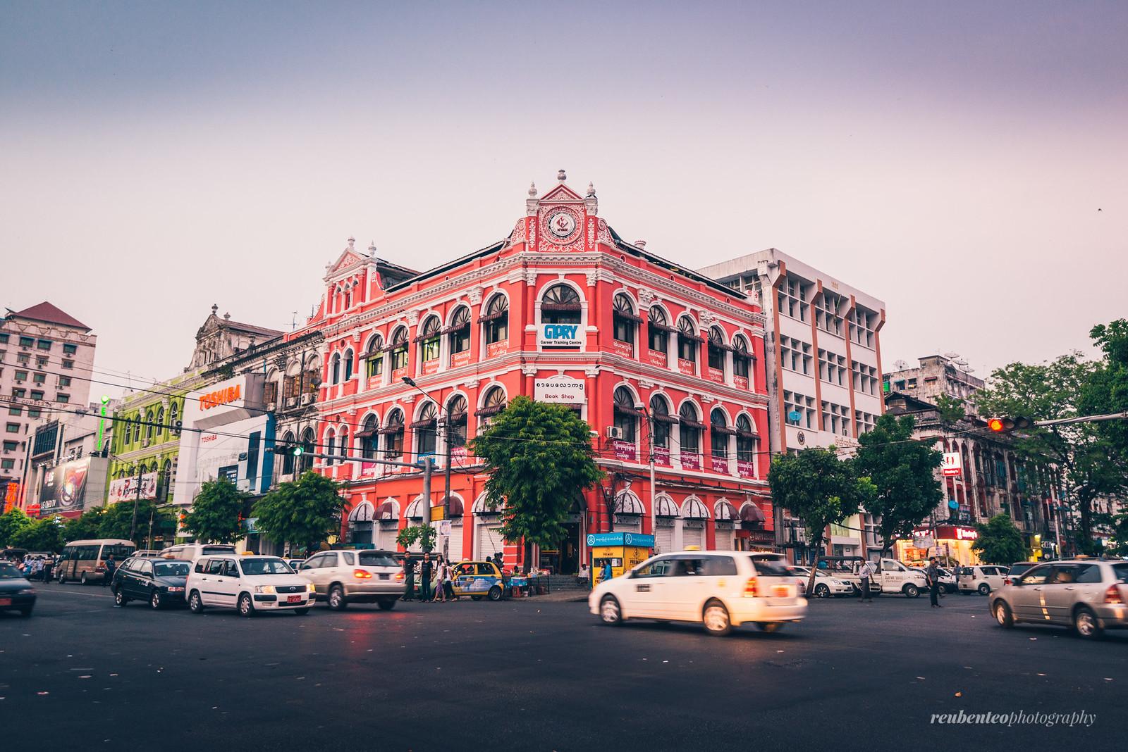 Myanmar Colonial Building