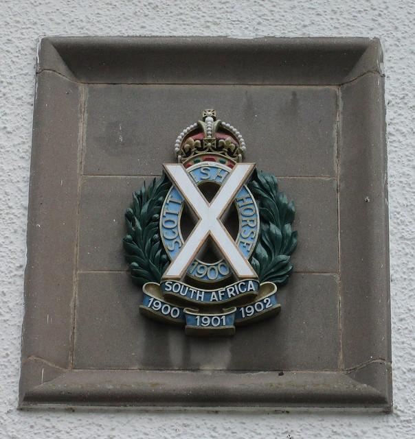Memorial to Scottish Horse, Dunkeld