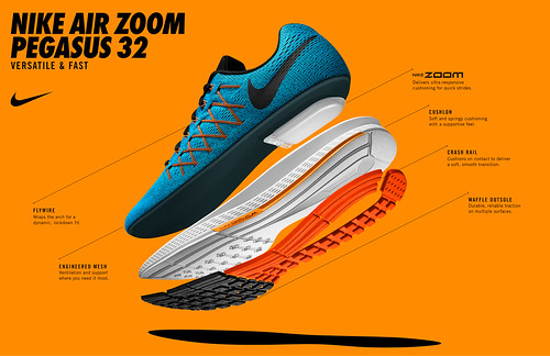 Nike Zoom Air Pegasus 32 Hombre