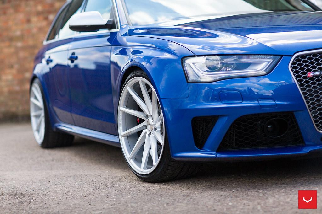 Audi B8 Rs4 Avant 20 Inch Vossen Cvt Directional Wheels