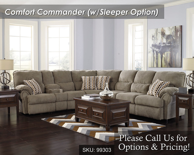 Comfort Commander Sleeper optional