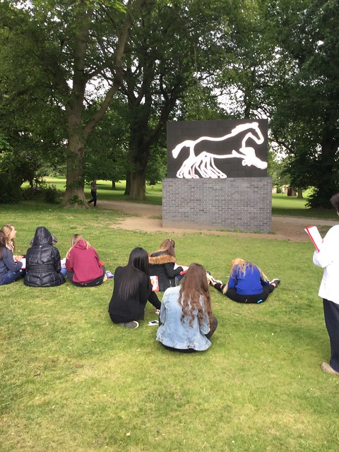 Art YSP Visit Year 10 June 2015