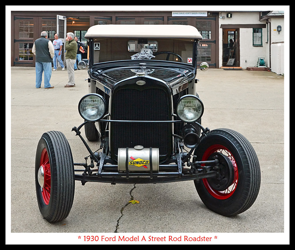 1930 Ford Model A Street Rod Roadster | Visit to the Open Ho… | Flickr
