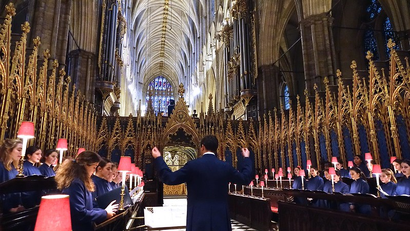 Chapel Choir perform at Westminster Abbey