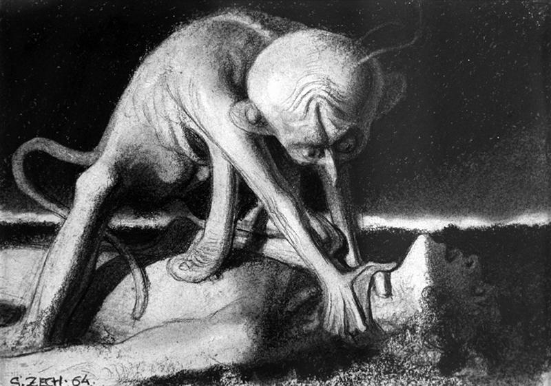 Stefan Zechowski - Nightmare, 1964