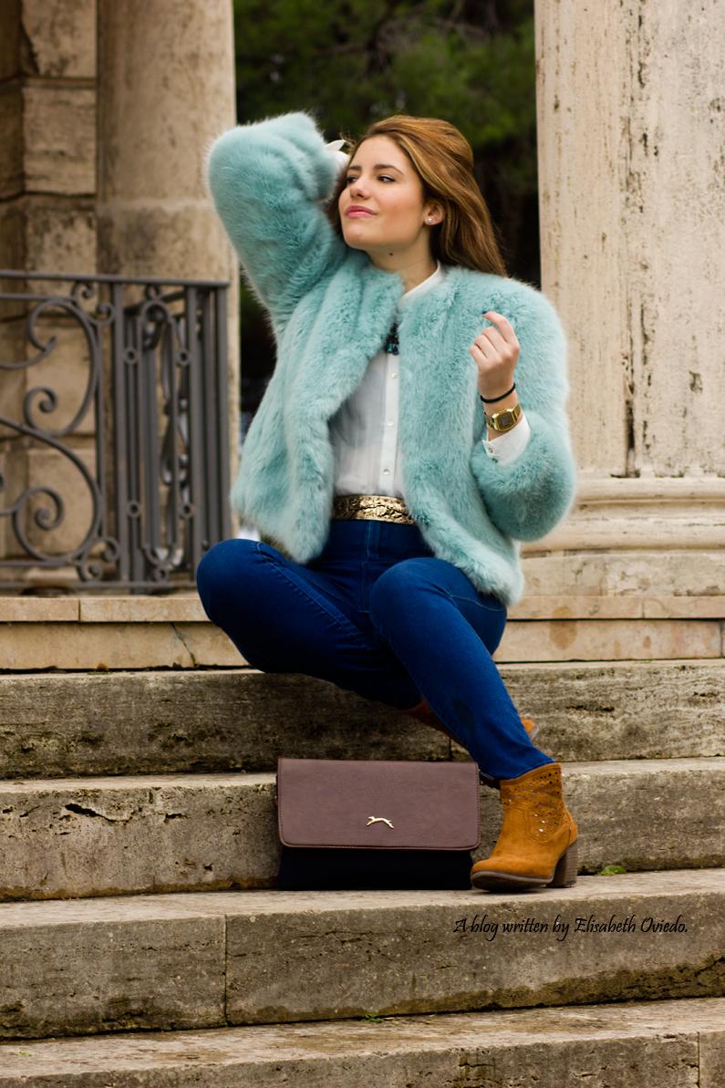 abrigo pelo zara look invernal barcelona outfit (4)